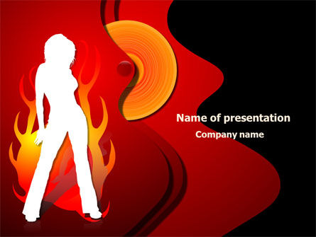 Devil Girl PowerPoint Template