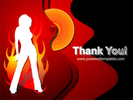 Devil Girl PowerPoint Template Slide 20