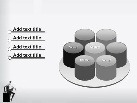 Slim Girl PowerPoint Template Slide 12