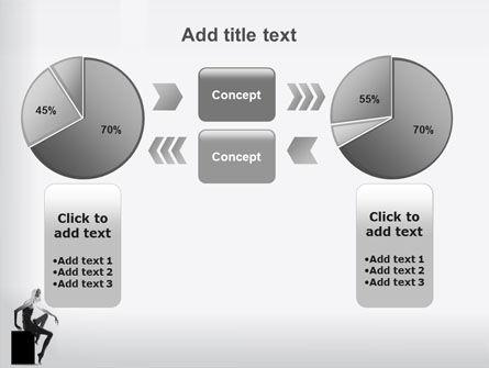 Slim Girl PowerPoint Template Slide 16