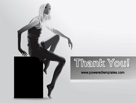 Slim Girl PowerPoint Template Slide 20