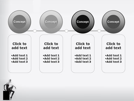 Slim Girl PowerPoint Template Slide 5