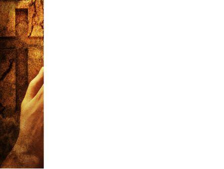Prayer Hands PowerPoint Template, Slide 3, 08023, Religious/Spiritual — PoweredTemplate.com