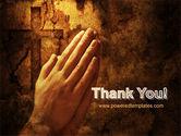 Prayer Hands PowerPoint Template#20