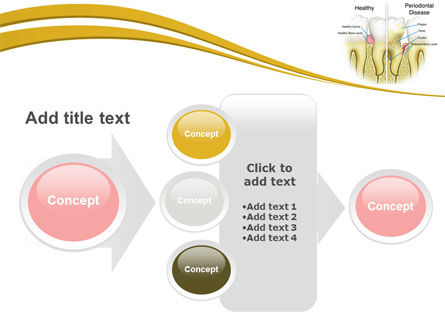 Periodontal Tooth PowerPoint Template Slide 17