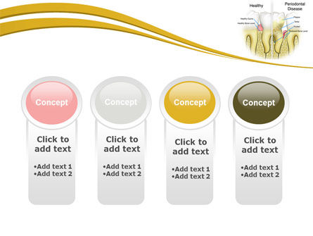 Periodontal Tooth PowerPoint Template Slide 5