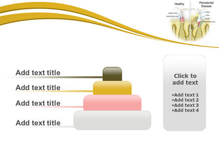 Periodontal Tooth PowerPoint Template Slide 8