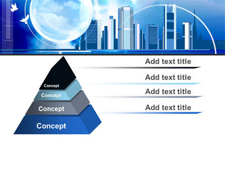 Future City PowerPoint Template Slide 12