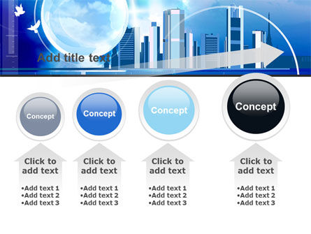 Future City PowerPoint Template Slide 13