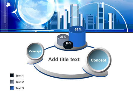 Future City PowerPoint Template Slide 16