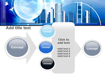 Future City PowerPoint Template Slide 17