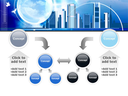 Future City PowerPoint Template Slide 19