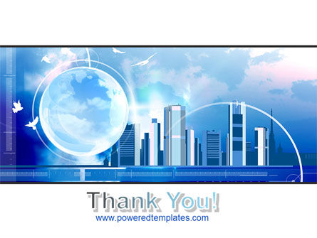 Future City PowerPoint Template Slide 20