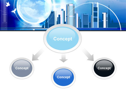 Future City PowerPoint Template Slide 4