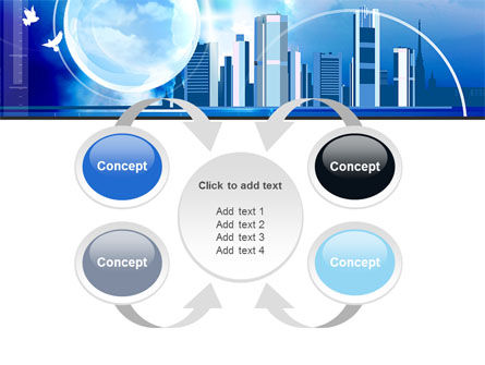 Future City PowerPoint Template Slide 6