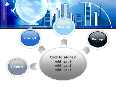 Future City PowerPoint Template Slide 7