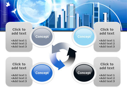 Future City PowerPoint Template Slide 9