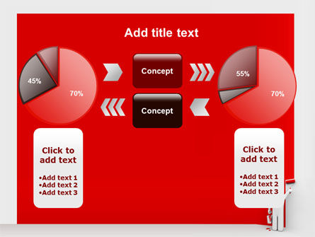 Paint It Red PowerPoint Template Slide 11