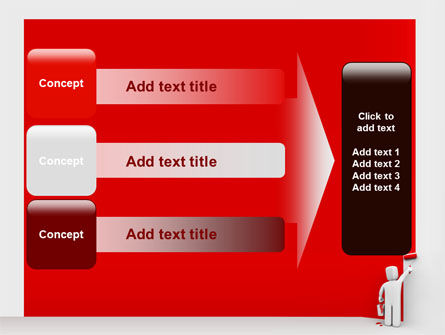 Paint It Red PowerPoint Template Slide 12