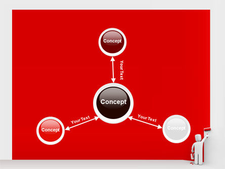 Paint It Red PowerPoint Template Slide 14
