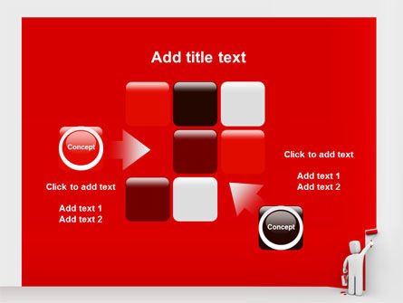 Paint It Red PowerPoint Template Slide 16