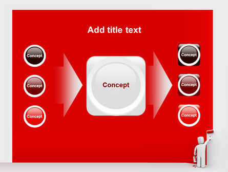 Paint It Red PowerPoint Template Slide 17