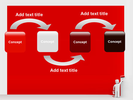 Paint It Red PowerPoint Template Slide 4