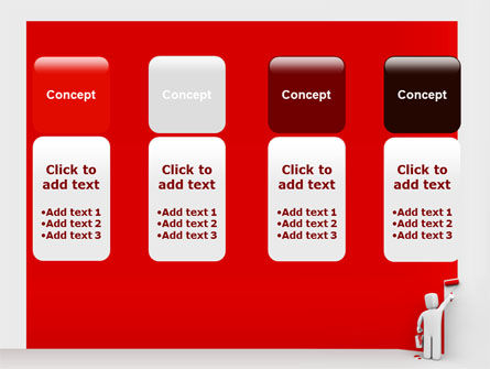 Paint It Red PowerPoint Template Slide 5