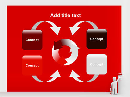 Paint It Red PowerPoint Template Slide 6