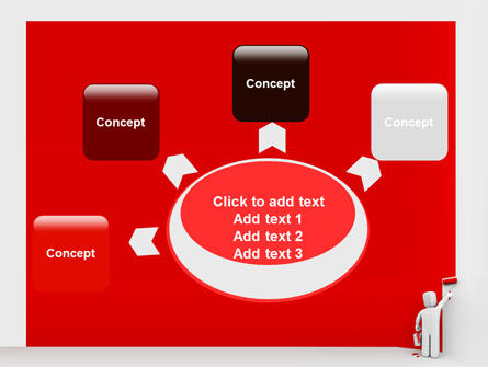 Paint It Red PowerPoint Template Slide 7
