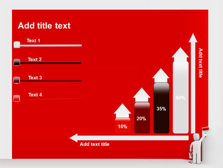 Paint It Red PowerPoint Template Slide 8