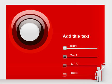 Paint It Red PowerPoint Template Slide 9