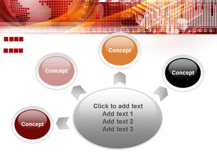 World Theme PowerPoint Template Slide 7