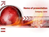Global: World Theme PowerPoint Template #08027
