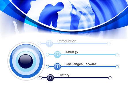 Golf Training PowerPoint Template, Slide 3, 08028, Sports — PoweredTemplate.com
