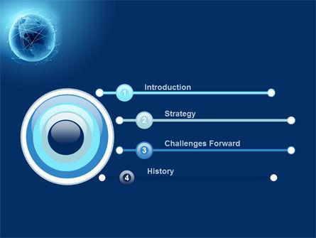 Satellite Orbits PowerPoint Template, Slide 3, 08033, Global — PoweredTemplate.com