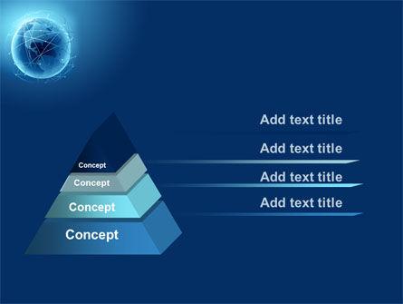 Satellite Orbits PowerPoint Template, Slide 4, 08033, Global — PoweredTemplate.com
