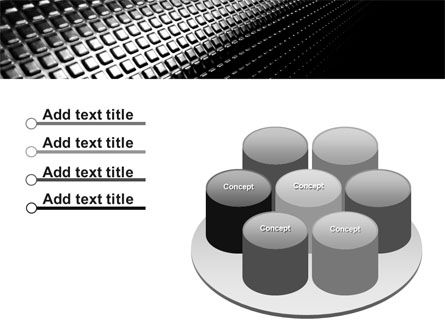 Ribbed Surface PowerPoint Template Slide 12