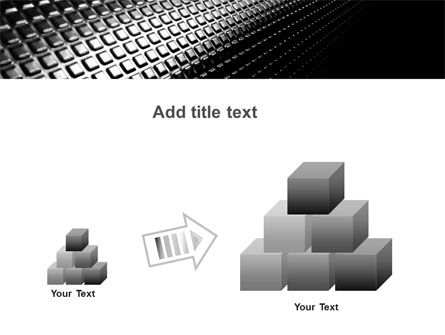 Ribbed Surface PowerPoint Template Slide 13