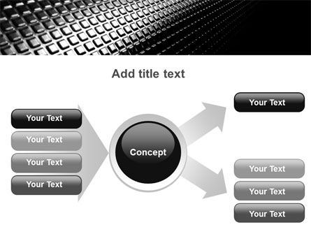 Ribbed Surface PowerPoint Template Slide 15