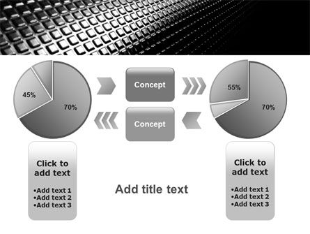 Ribbed Surface PowerPoint Template Slide 16