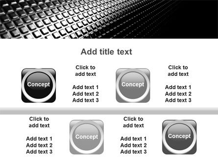 Ribbed Surface PowerPoint Template Slide 18