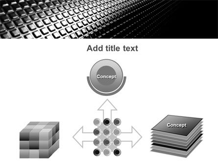 Ribbed Surface PowerPoint Template Slide 19