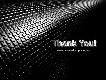 Ribbed Surface PowerPoint Template Slide 20