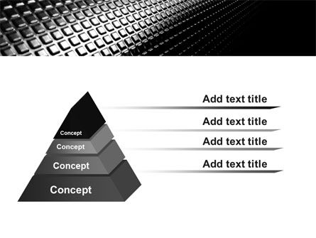 Ribbed Surface PowerPoint Template Slide 4