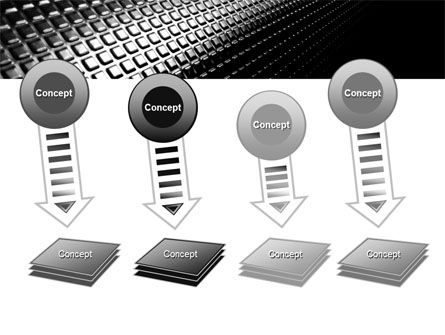 Ribbed Surface PowerPoint Template Slide 8