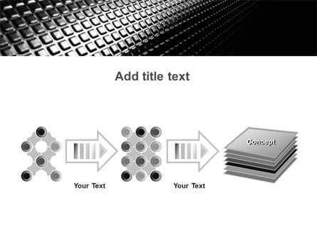 Ribbed Surface PowerPoint Template Slide 9