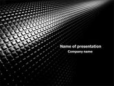 Abstract/Textures: Ribbed Surface PowerPoint Template #08035