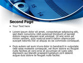 Laboratory Centrifuge PowerPoint Template#2
