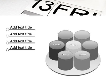 Friday 13 PowerPoint Template Slide 12